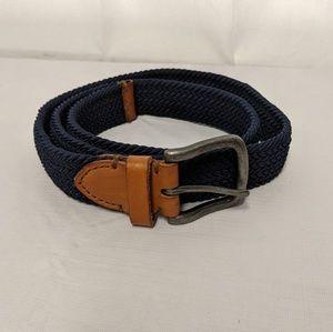 Accessories - Blue woven belt sz L/XL